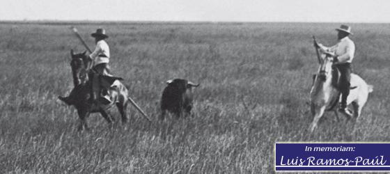 El vaquero y su caballo por Luis Ramos-Paúl