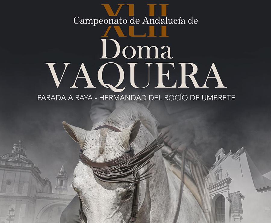 Diego Peña Campeón de Andalucía de Doma Vaquera 2020