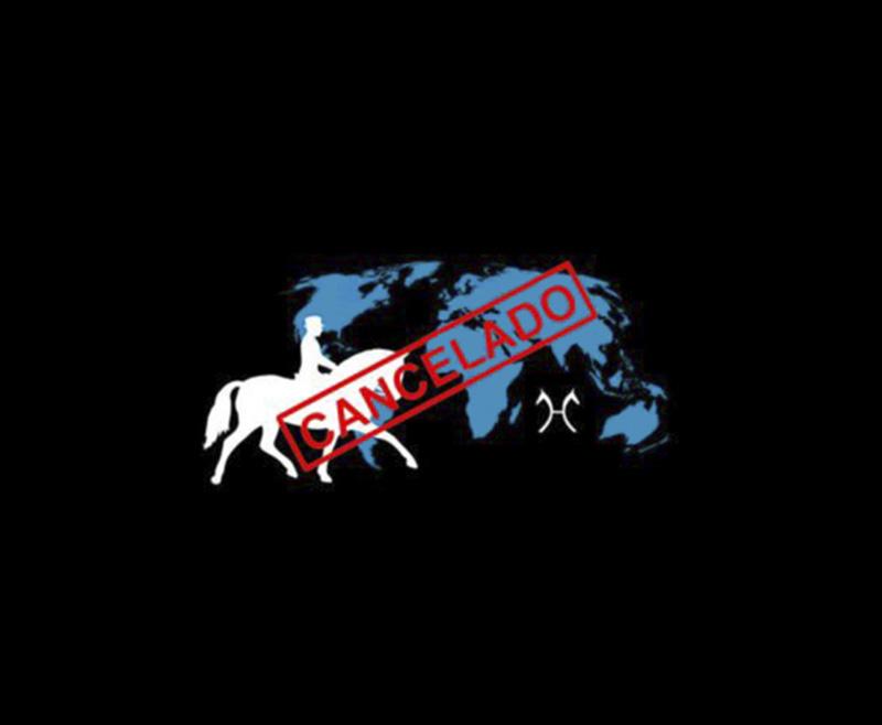 Cancelado el Campeonato del Mundo de Caballos Jóvenes de Doma Clásica