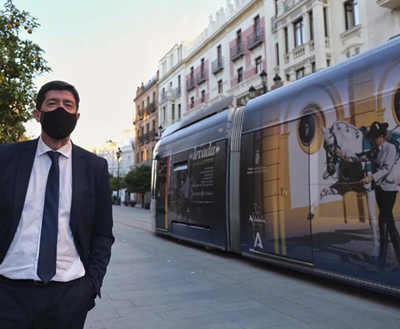 La Junta de Andalucía promociona la REAAE en el metrocentro de Sevilla