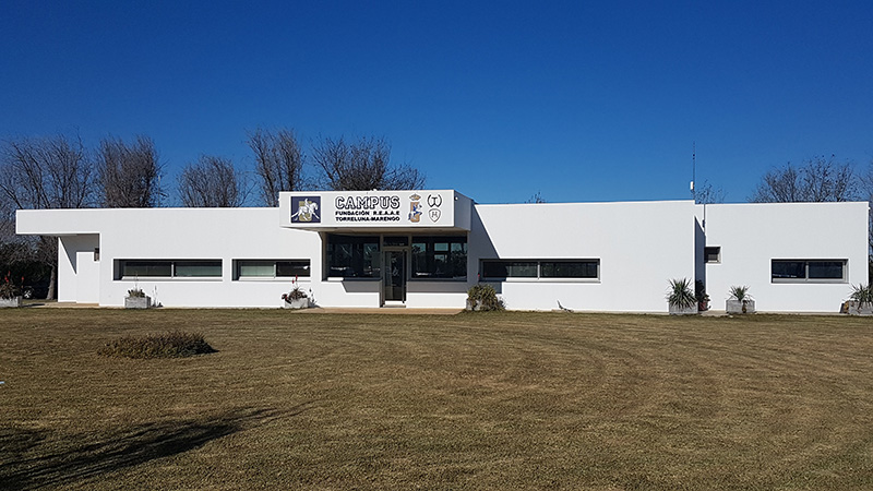 Edificio de la Fundación REAAE, Torreluna-Marengo