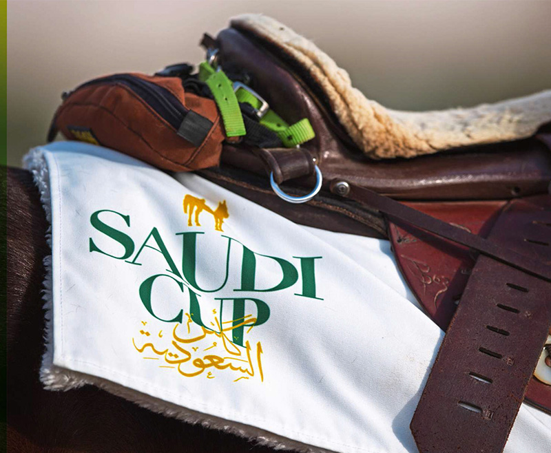 Nieves García entre la élite global de los jockeys en la Saudí Cup 2021