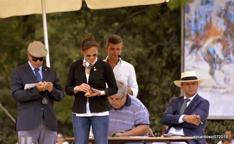 Junto a los jueces internacionales Claudia Elsner Matos y Antonio Vicente