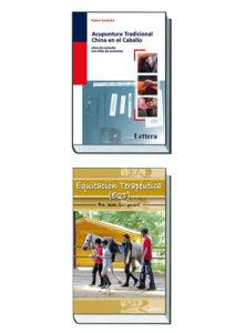 Acupuntura tradicional china en el caballo + Equitación terapéutica. Pack de 2 libros