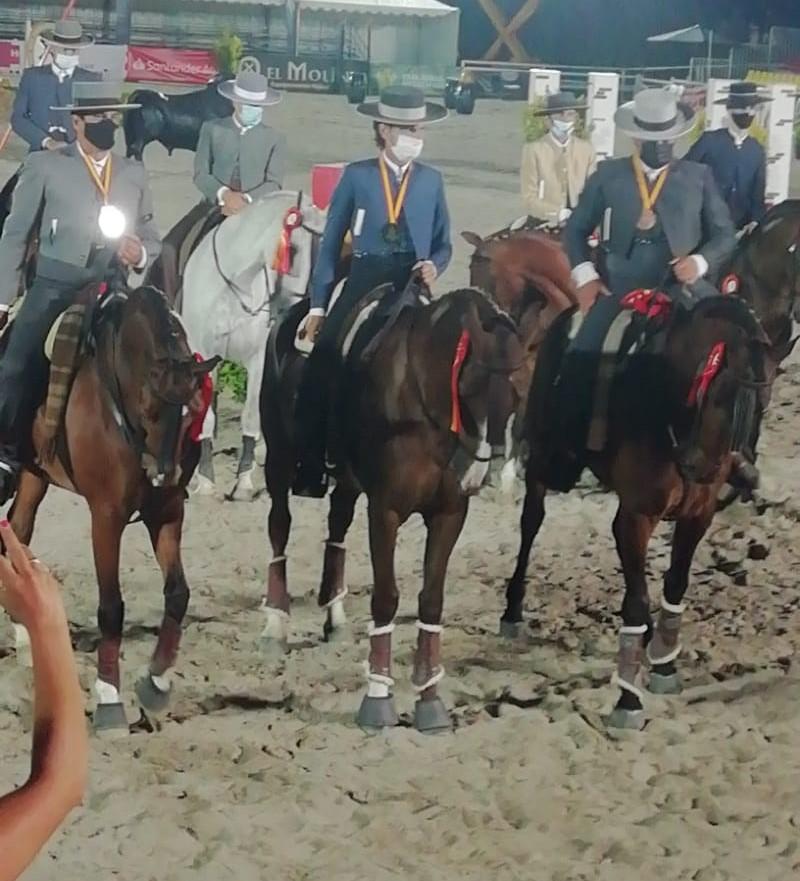 Entrega de medallas Equitación de Trabajo