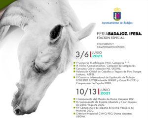 Lee más sobre el artículo Imparable 1ª semana de ECUEXTRE: II Campeonato de España de Equitación de Trabajo y actividades del PRE