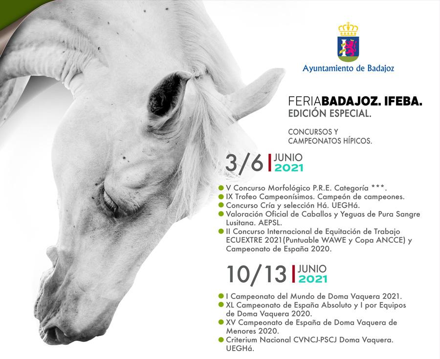 Imparable 1ª semana de ECUEXTRE: II Campeonato de España de Equitación de Trabajo y actividades del PRE